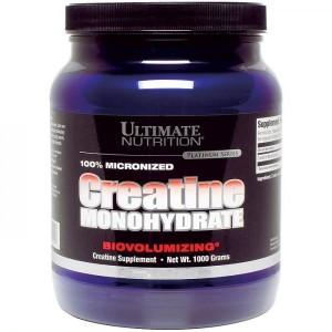 Creatine Monohydrate 1000 gram,300gram,120gram,200 capsule– Ultimate Nutrition