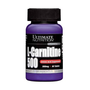 L-Carnitine 500mg, 60tabs – Ultimate Nutrition