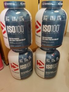 Jual Dymatize ISO-100, 5 Lbs