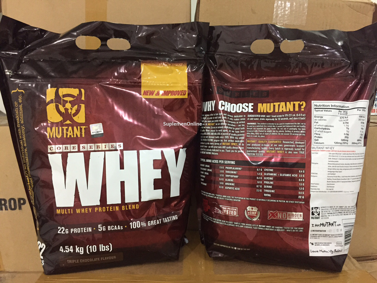Mutant Whey im Test