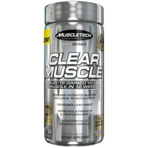 Clear Muscle Muscletech 168 Liquid Caps