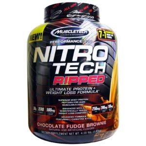 Nitrotech Ripped Muscletech / Nitro tech Ripped 4 Lbs