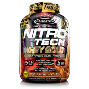 Nitrotech Whey Gold 6lbs Muscletech