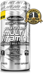 Platinum Multivitamin Muscletech isi 90 Caplet