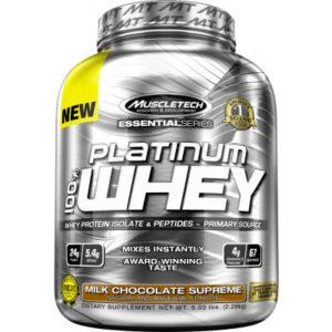 Platinum Whey Muscletech 5lbs