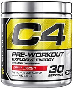 C4 Cellucor pre-work out 30 serving TIDAK GUMPAL !