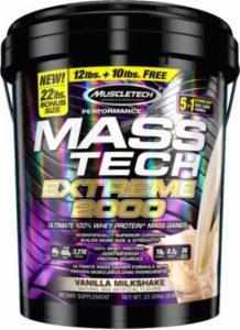 Mass Tech 22 lbs Gainer Muscletech