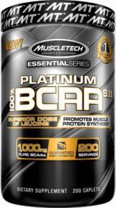 BCAA Platinum Muscletech / Platinum BCAA 200 caplet